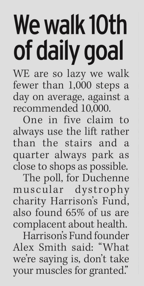 COVERAGE FOR HARRISON'S FUND