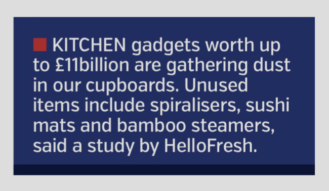 COVERAGE FOR HELLOFRESH