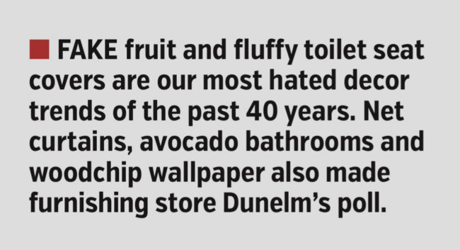 COVERAGE FOR DUNELM
