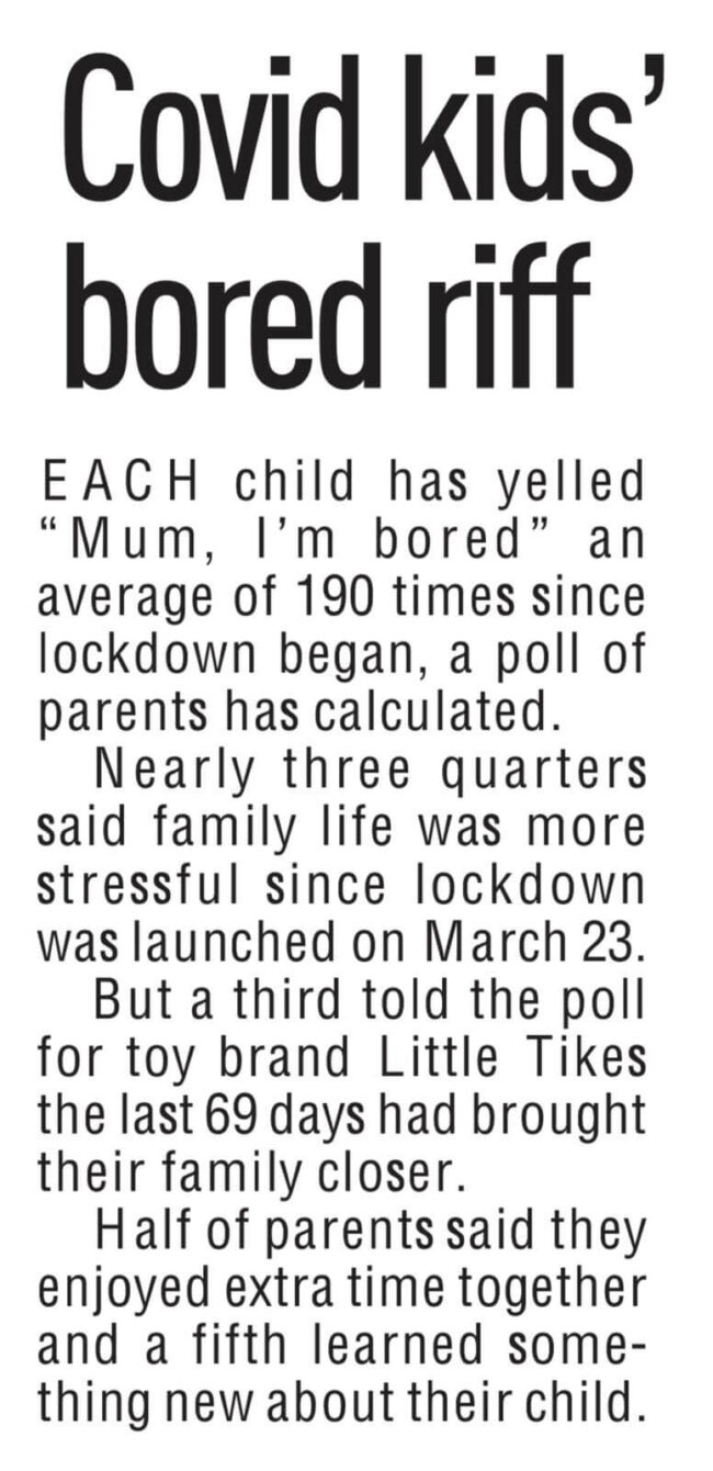 COVERAGE FOR LITTLE TIKES